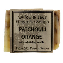 Load image into Gallery viewer, Patchouli Orange Soap on white isolated backdrop