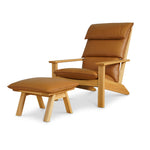 NORD Lounge Chair - Tan Leather