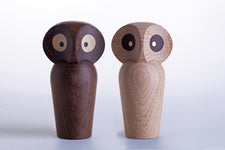 ArchitectMade Paul Anker Hansen Owl Large - Smoked Oak