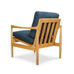 Den Arm Chair - OAk - Royal Blue