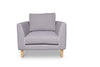 Narvik Arm Chair - Cloud Grey