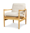 Den Arm Chair - Oak - Oatmeal