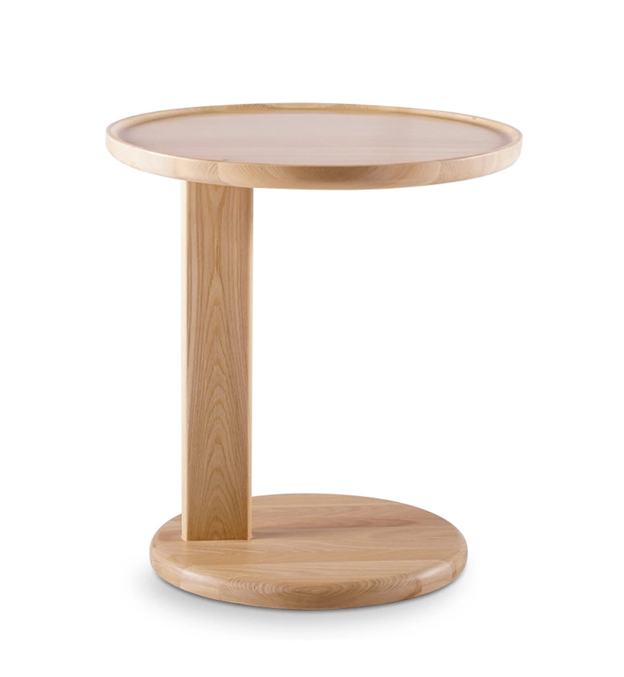 Picture of: Forma Side Table Elm Nat The Modern Furniture Store