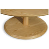 Vara Round Pedestal Coffee Table - Ash