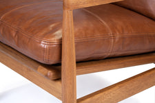 Den Arm Chair - Brown Leather
