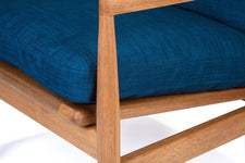 Den Arm Chair - Royal Blue