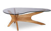 Vastra Glass Coffee Table - Oak