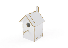 Load image into Gallery viewer, Birdhouse DXF file