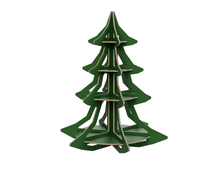 Load image into Gallery viewer, Christmas Tree DXF file