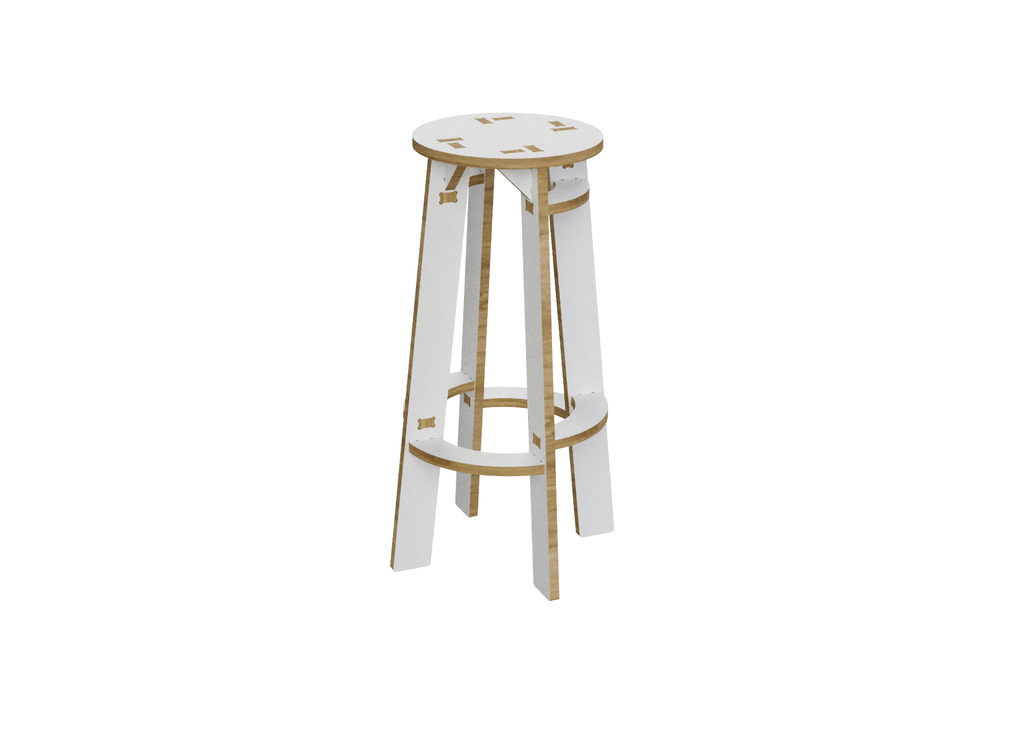 Bar Stool DXF file