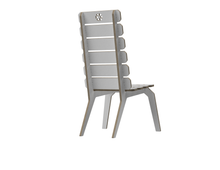 Load image into Gallery viewer, Lounge chair DXF file