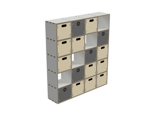 Shelf with drawer DXF file