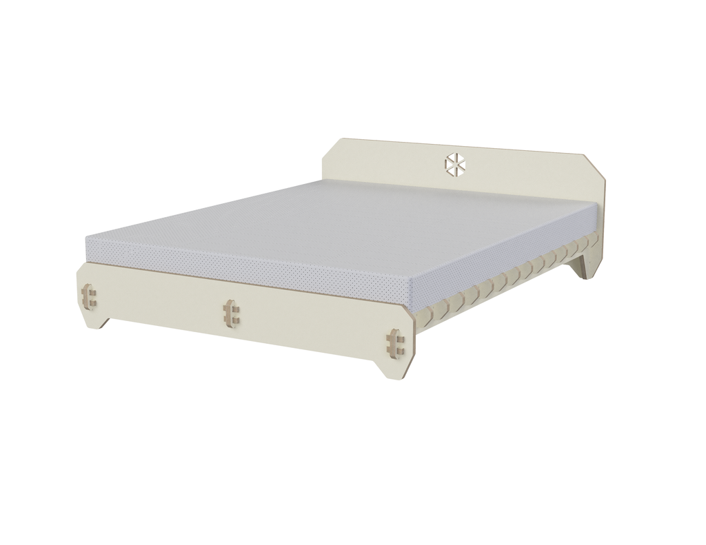 Bed DXF file