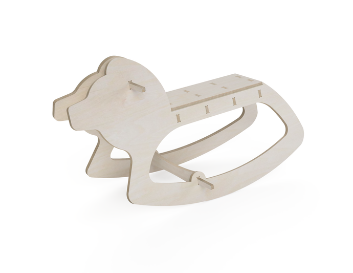 Rocking Horse (Lion) DXF file