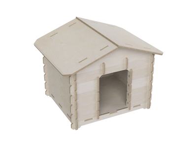 Dog house DXF file