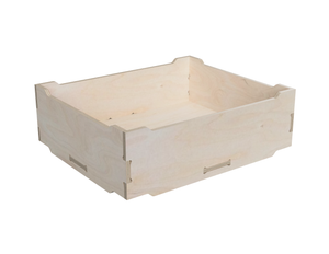 Simple storage box DXF file