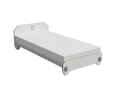 Bed (one person) DXF file
