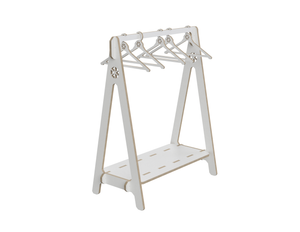 Hanger rack DXF file