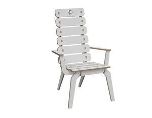 Lounge chair (with armrest) DXF file