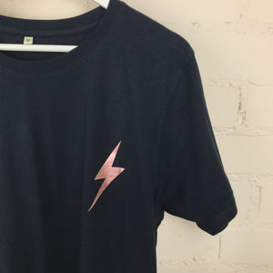 Rose Power Bolt Adult T-shirt