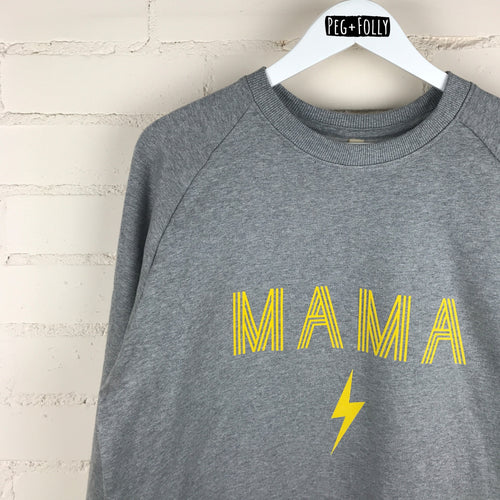 MAMA Power Adult Sweatshirt
