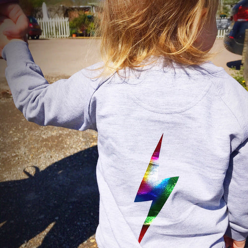Rainbow Power Bomber Jacket