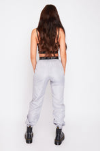 Load image into Gallery viewer, Storm mesh panel cargo pants in silver