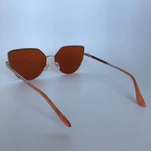 Daisy sunglasses in orange