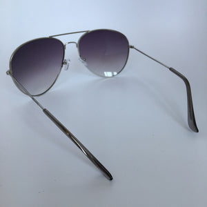 Aviator sunglasses in grey/silver