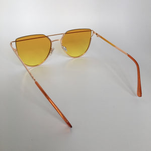 Caprice sunglasses in yellow