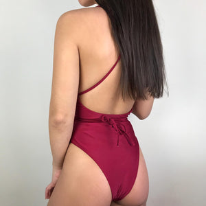 Scarlett multiway swimsuit in red