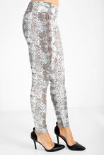 Load image into Gallery viewer, Lyla snake print PU leggings