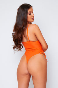 Talia swimsuit in orange