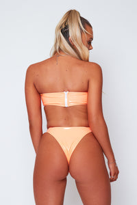 Zia PVC bikini in orange