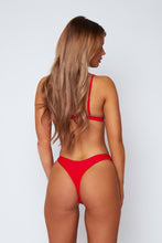 Load image into Gallery viewer, Minimal bikini in red