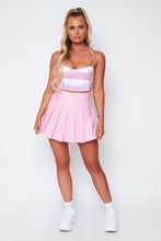 Load image into Gallery viewer, Ivy pleated skirt in baby pink