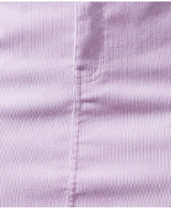 Millie corduroy mini skirt in lilac