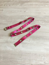 Load image into Gallery viewer, Long eyelet belt in pink