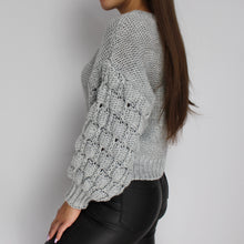 Load image into Gallery viewer, Kayley chunky knit jumper in grey