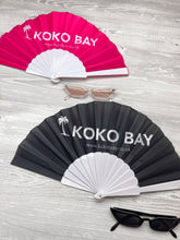 Load image into Gallery viewer, Koko bay fan in black