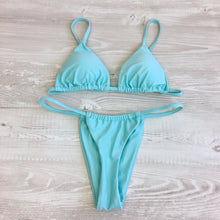 Load image into Gallery viewer, Skimpy bikini in baby blue