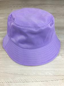 Bucket hat in lilac
