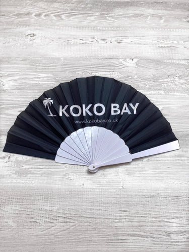 Koko bay fan in black