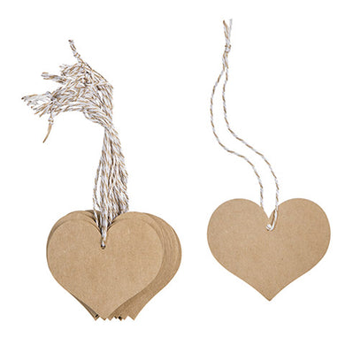 Kraft Hearts With String