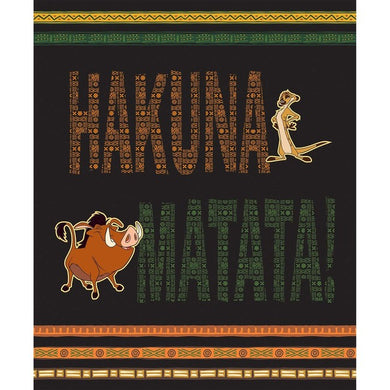 Lion King HakunaMatata Panel