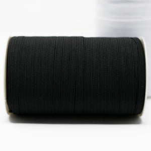 Double Fold Black Bias Tape