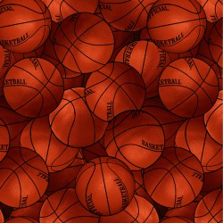 Fat Quarters Packed Basketballs