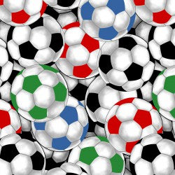 Fat Quarters Packed Soccer Balls
