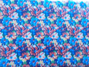 Fat Quarters - Calicos Blue  292