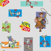 Fat Quarter Toy Story4 at Play With Forky